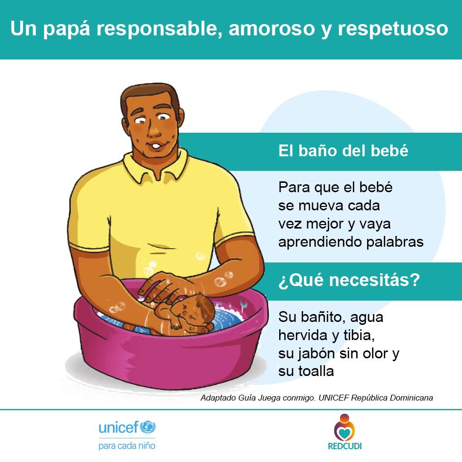 Afiche 14.Papá asume responsabilidades