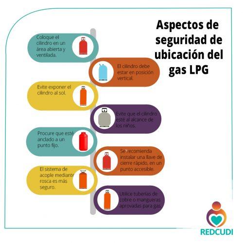 Si usted tiene un centro de cuidado infantil debe tener en cuenta los siguientes aspectos de seguridad al ubicar el gas LPG.
