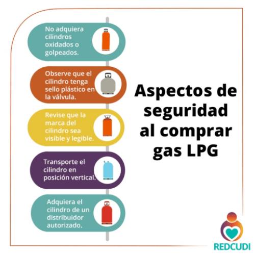 Si usted tiene un centro de cuidado y desarrollo infantil se recomienda tener en cuenta los siguientes aspectos de seguridad al comprar gas LPG.