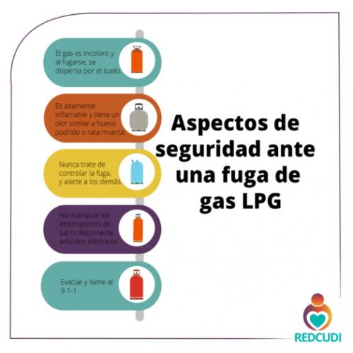 Si usted tiene un centro de cuidado y desarrollo infantil se recomienda tener en cuenta los siguientes aspectos de seguridad al ubicar el gas LPG.